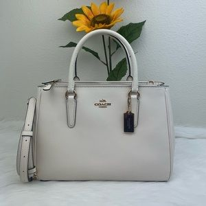 Coach Leather Surrey Carryall
